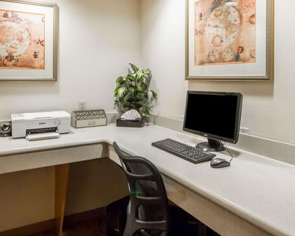 Business center with free wireless Internet access | Quality Inn Tulsa-Downtown West