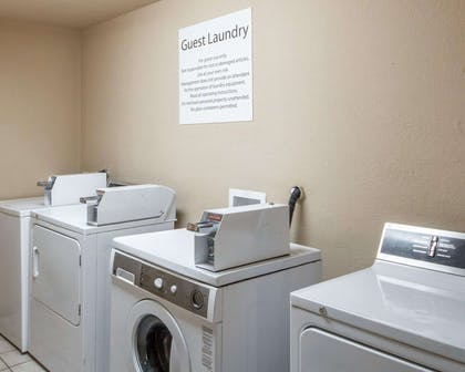 Guest laundry facilities | Quality Inn Tulsa-Downtown West