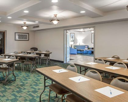 Large space perfect for corporate functions or training | Quality Inn Tulsa-Downtown West