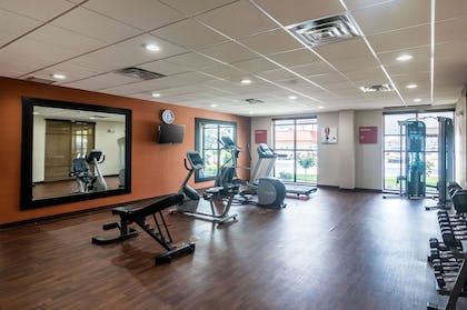 Fitness center | Comfort Suites Airport on Meridian