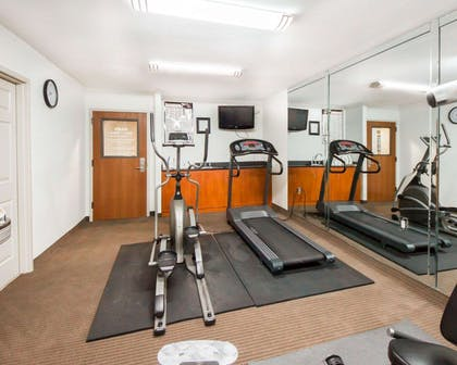 Fitness center with television | Sleep Inn & Suites Edmond near University