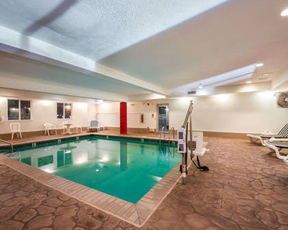 Indoor pool | Sleep Inn & Suites Edmond near University