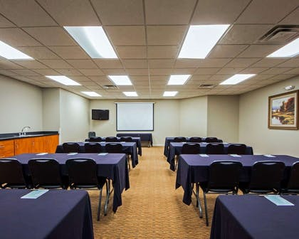 Conference room | Sleep Inn & Suites Edmond near University