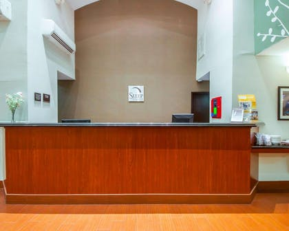 Front desk | Sleep Inn & Suites Edmond near University