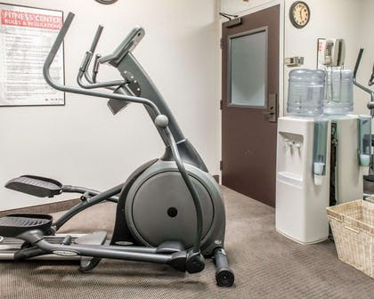 Fitness center with cardio equipment | MainStay Suites Pittsburgh Airport