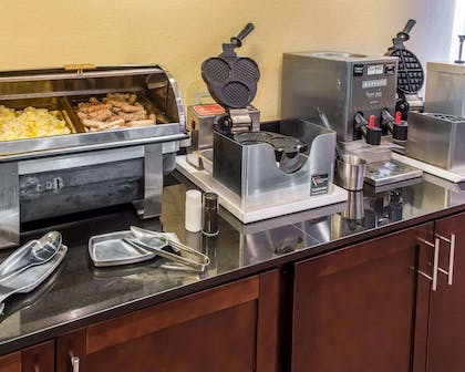 Free breakfast with waffles | MainStay Suites Pittsburgh Airport