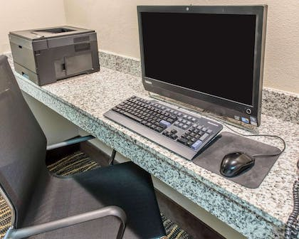 Business center with free wireless Internet access | MainStay Suites Pittsburgh Airport