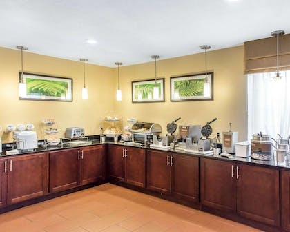 Assorted breakfast items | MainStay Suites Pittsburgh Airport