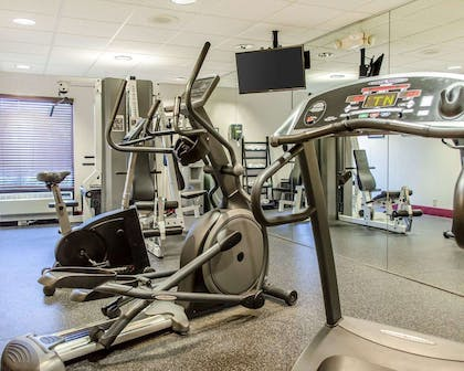 Fitness center with cardio equipment | Comfort Inn & Suites