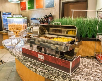 Hot and cold breakfast buffet | Comfort Suites Monroeville