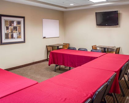 Large space perfect for corporate functions or training   Comfort Suites