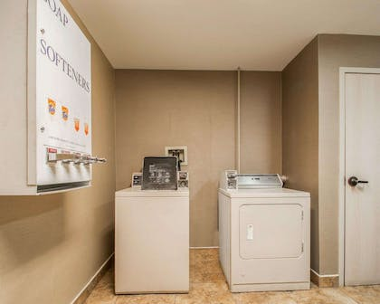 Guest laundry facilities | Quality Inn & Suites NJ State Capital Area