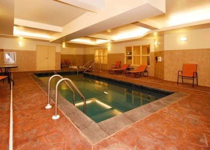 Indoor pool | Comfort Suites