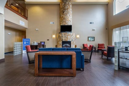 Spacious lobby with sitting area | Comfort Suites Near Gettysburg Battlefield Visitor Center