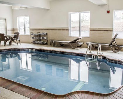 Indoor pool | Sleep Inn & Suites