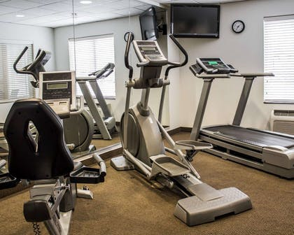 Exercise room with television | Sleep Inn & Suites
