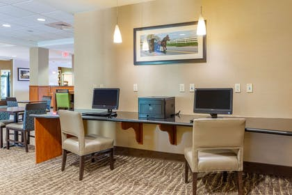 Business center   Comfort Suites Amish Country