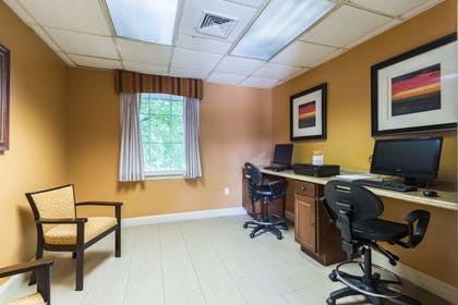 Business center | Quality Inn & Suites Conference Center