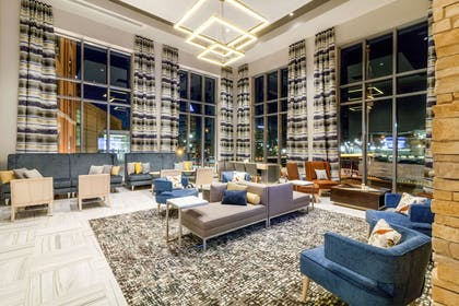 Spacious lobby with sitting area | Cambria Hotel Pittsburgh - Downtown