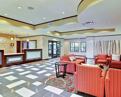 Lobby with sitting area   Comfort Suites