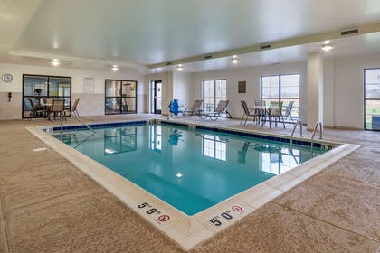 Relax by the pool | Comfort Suites Manheim - Lancaster