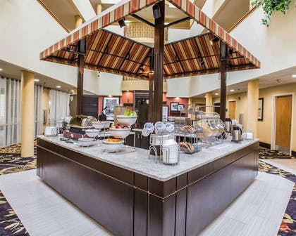 Breakfast counter | Comfort Suites Anderson