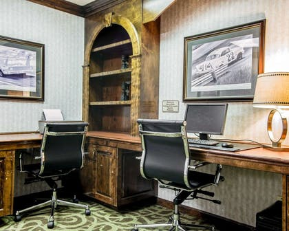 Business center with high-speed Internet access | Comfort Suites Sumter
