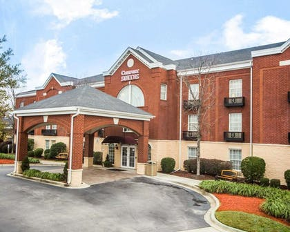 Hotel entrance | Comfort Suites Sumter