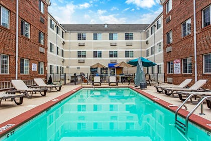 Relax by the pool | MainStay Suites Greenville Airport