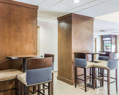 Spacious lobby with sitting area | Comfort Suites at Isle Of Palms Connector
