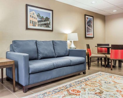 Spacious lobby | Comfort Suites at Isle Of Palms Connector