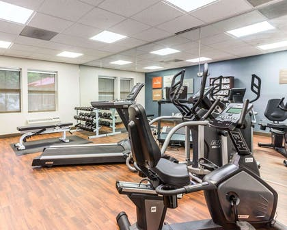 Fitness center with cardio equipment | Comfort Suites at Isle Of Palms Connector