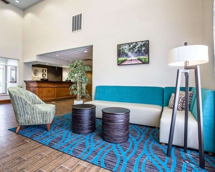 Spacious suite with sitting area | Comfort Inn & Suites Walterboro I-95