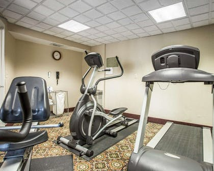 Fitness center with cardio equipment | Comfort Inn & Suites Walterboro I-95