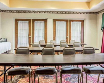 Meeting room with classroom-style setup | Comfort Inn & Suites at I-85