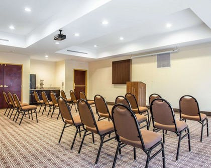 Banquetmeeting room with audiovisual equipment   Comfort Suites Rock Hill