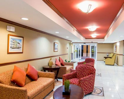 Relax in the public area | Comfort Inn & Suites Convention Center
