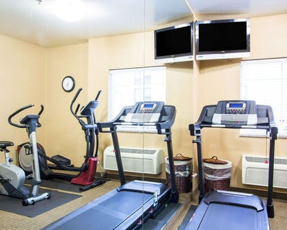 Fitness center with cardio equipment | Comfort Inn & Suites Convention Center