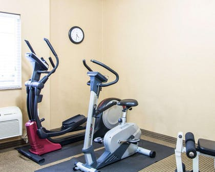Exercise room with cardio equipment | Comfort Inn & Suites Convention Center