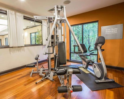 Fitness center | Comfort Suites Simpsonville