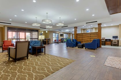 Hotel lobby | Comfort Suites Greenville South