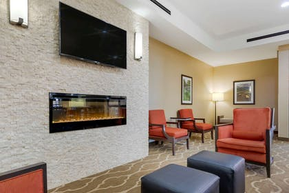 Lobby with sitting area | Comfort Suites Greenville South