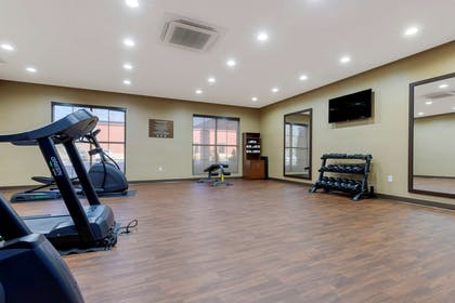 Exercise room | Comfort Suites Greenville South
