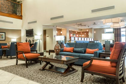 Hotel lobby | Comfort Suites West of the Ashley