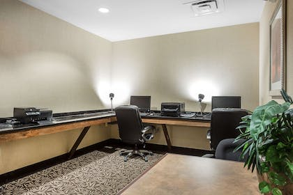 Business center | Comfort Suites West of the Ashley