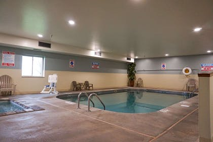 Indoor pool | Quality Inn & Suites Watertown