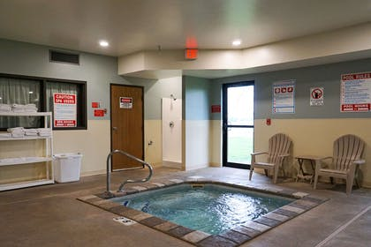 Indoor hot tub | Quality Inn & Suites Watertown