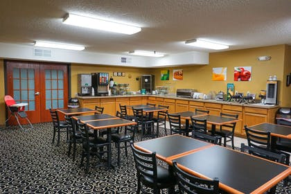 Spacious breakfast area | Quality Inn & Suites Watertown