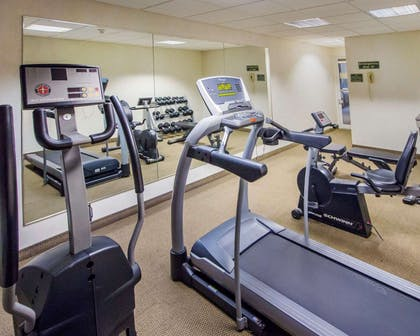 Exercise room with television | Comfort Inn & Suites