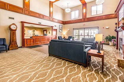 Spacious lobby with sitting area | Comfort Inn And Suites